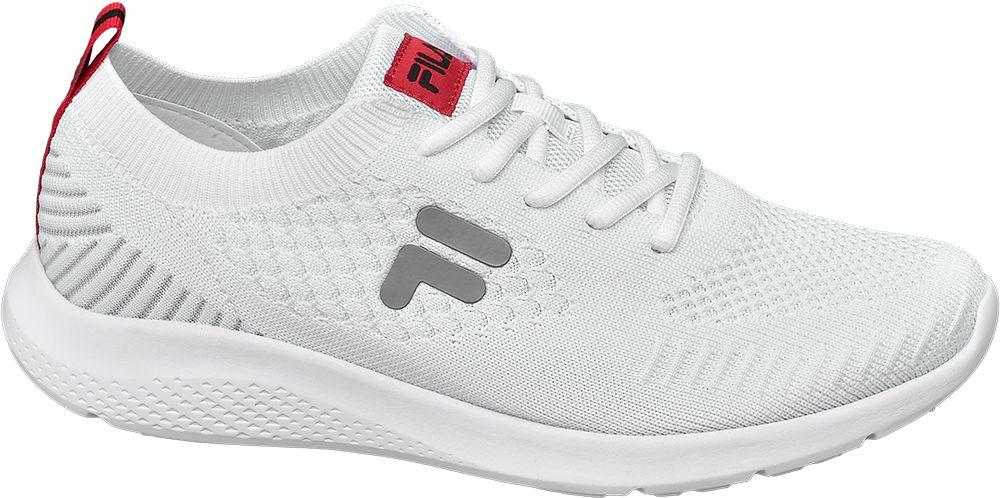 biało-szare sneakersy męskie Fila