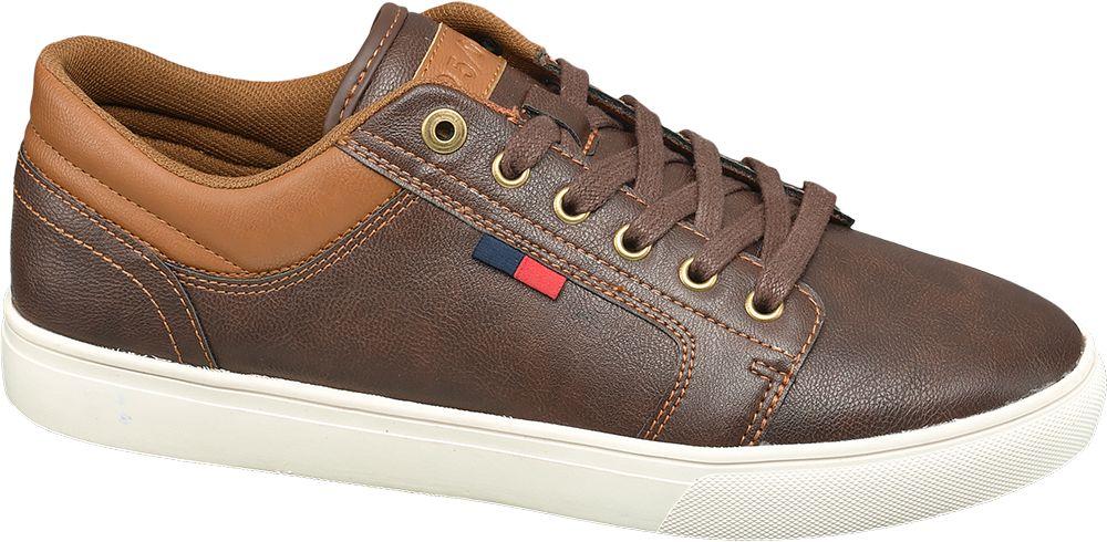brązowe sneakersy męskie Memphis One