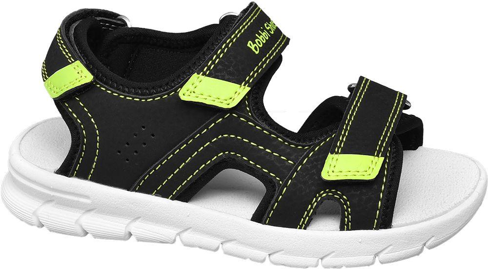 czare sandały chłopięce Bobbi-Shoes na białej podeszwie