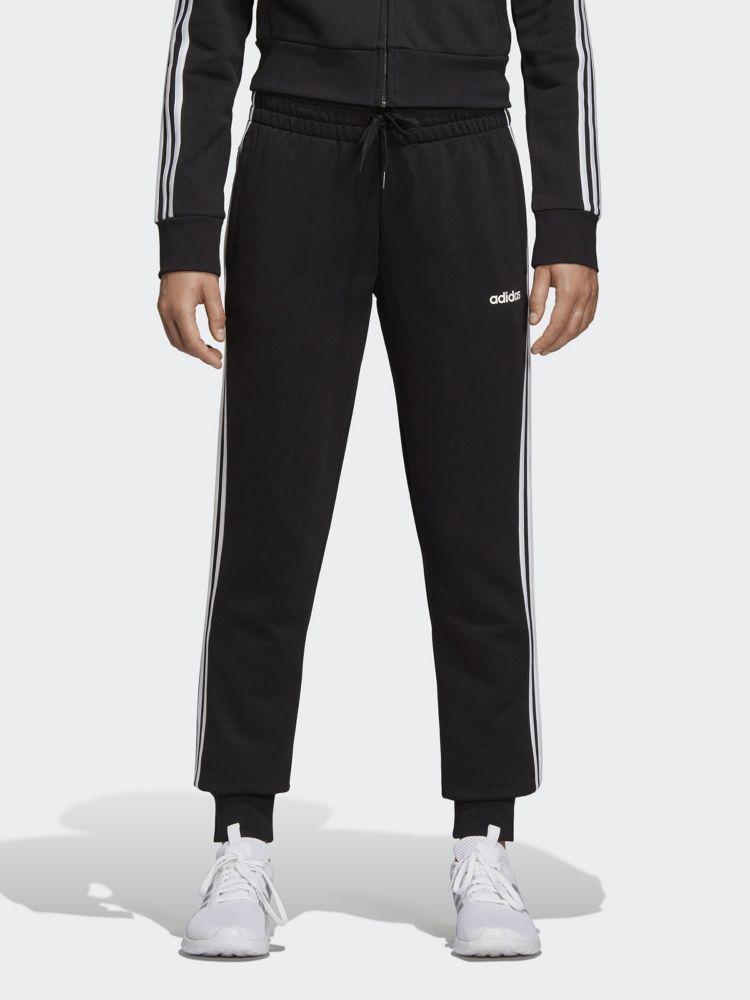 czarne damskie spodnie dresowe adidas
