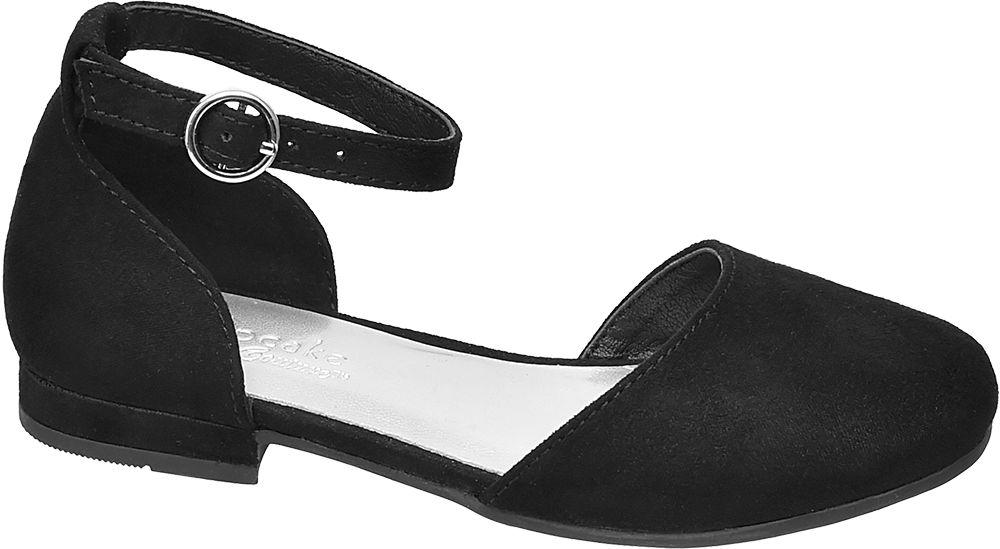 czarne sandałki dziewczęce Cupcake Couture