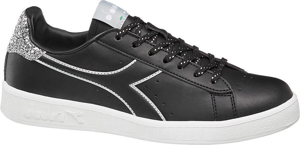 czarne sneakersy damskie Diadora Game