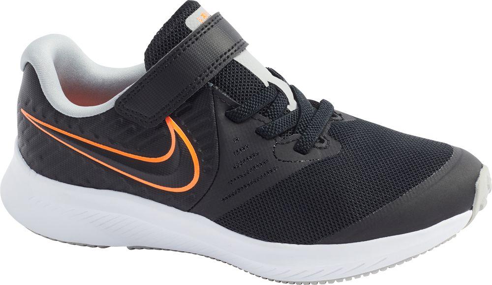 czarne sneakersy dziecięce Nike Star Runner 2