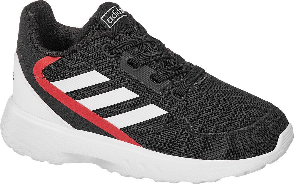 czarne sneakersy dziecięce adidas Nebzed