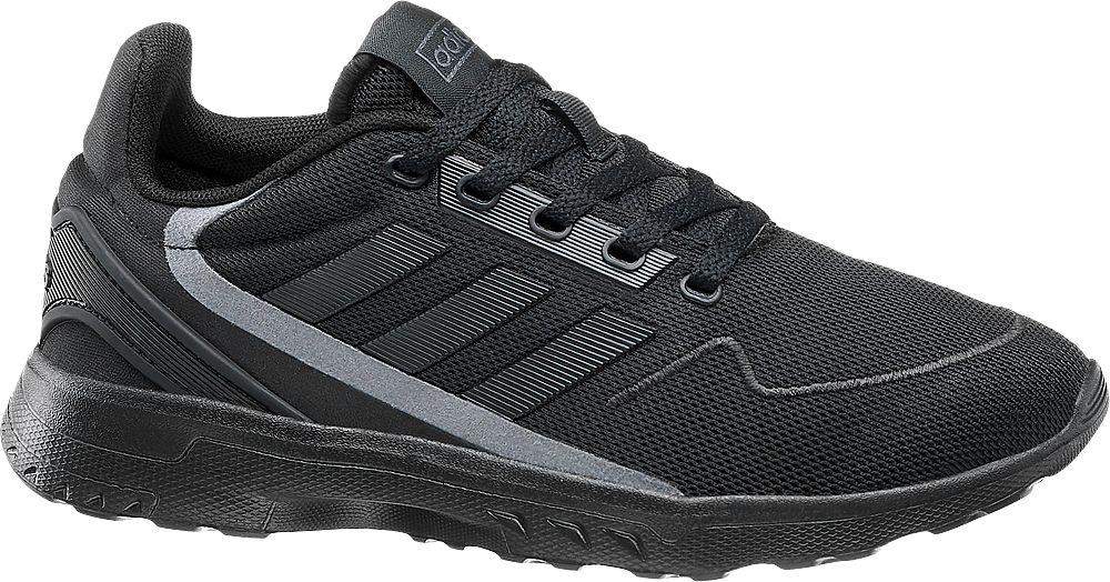 czarne sneakersy młodzieżowe adidas Nebzed
