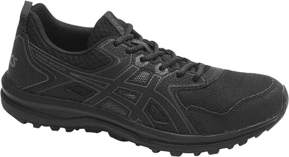czarne sneakersy męskie Asics Trail Scout