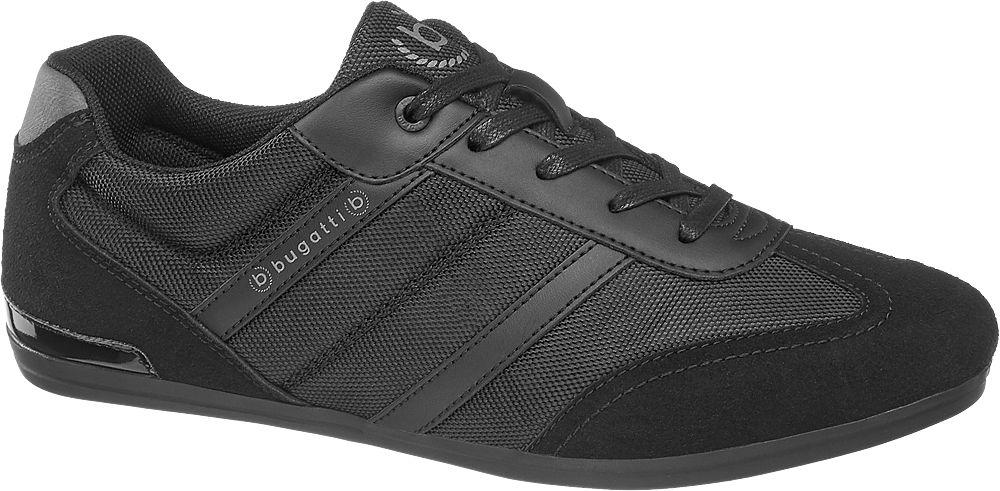 czarne sneakersy męskie Bugatti