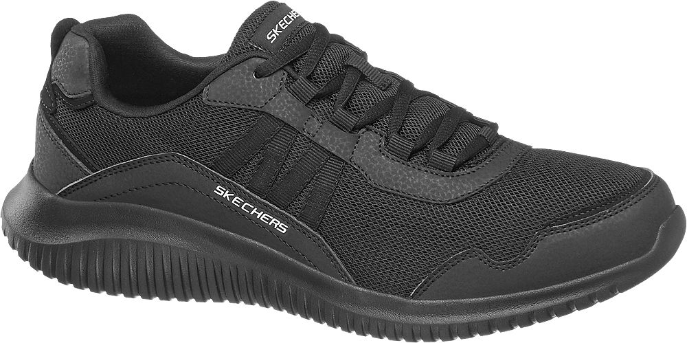 czarne sneakersy męskie Skechers