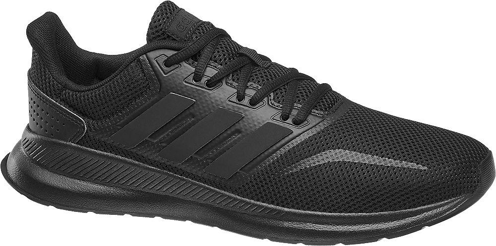 czarne sneakersy męskie adidas Falcon