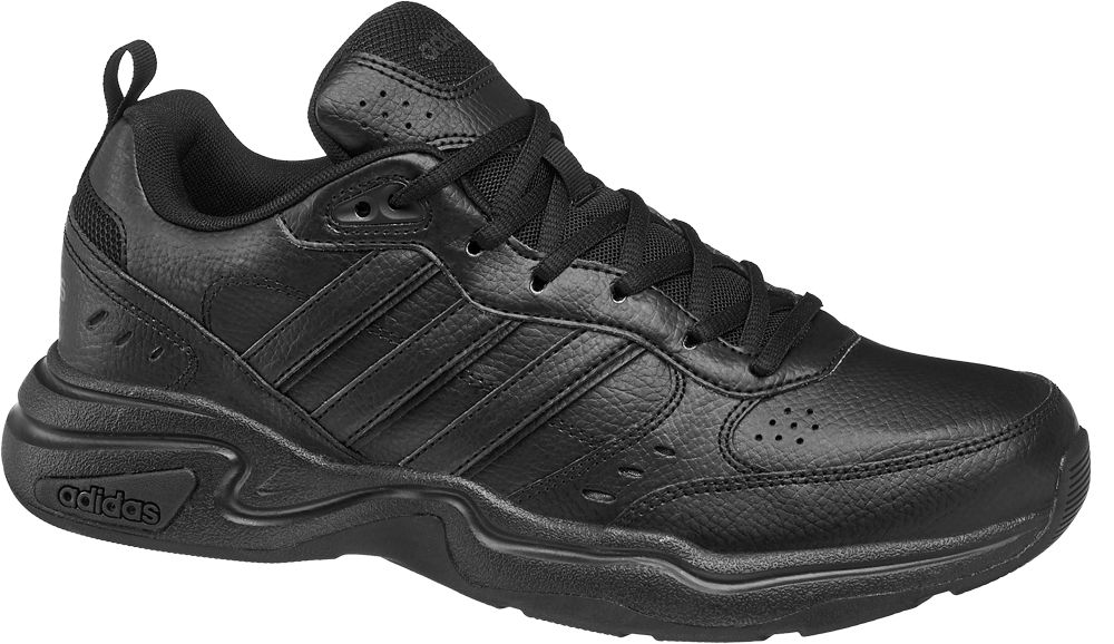 czarne sneakersy męskie adidas Strutter