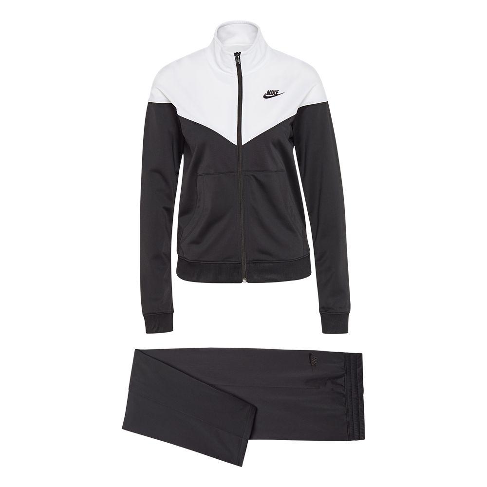 czarno-biały dres Nike