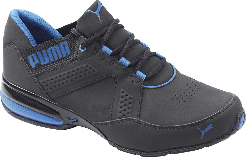 czarno-niebieskie sneakersy męskie Puma Enzin