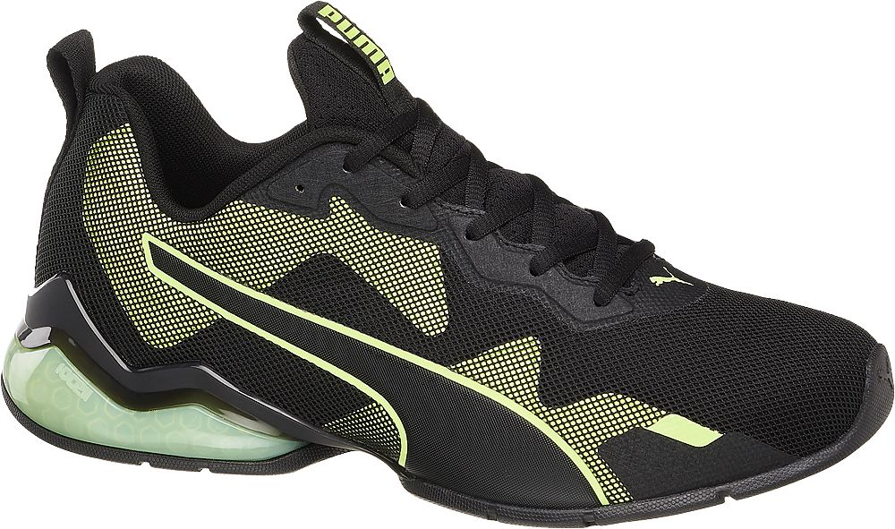 czarno-żółte sneakersy męskie Puma Cell Valiant