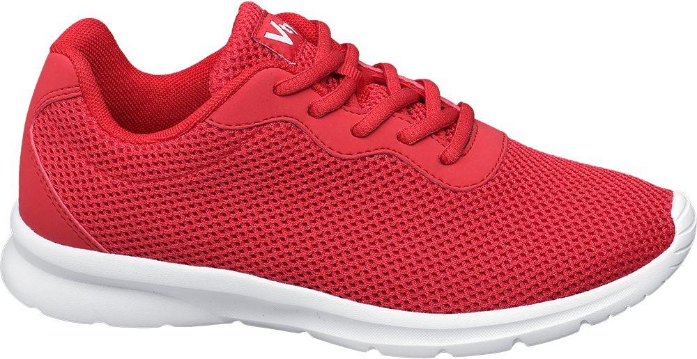 czerwone lekkie sneakersy damskie Vty