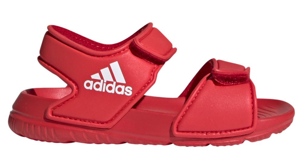 czerwone sandały dziecięce adidas Alta Swim