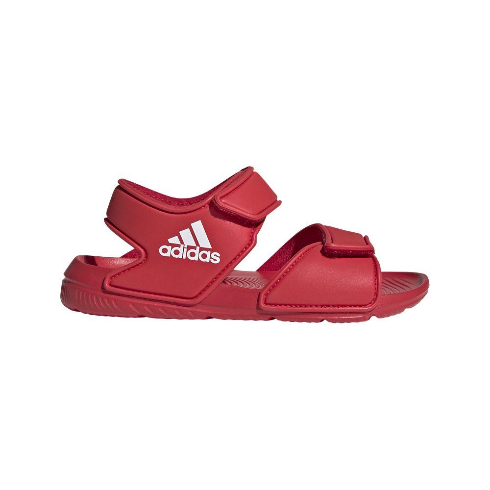 czerwone sandały dziecięce adidas Altaswim C