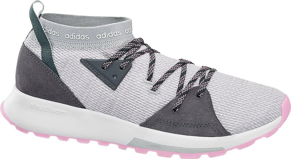 adidas - Šedé ponožkové tenisky Adidas Quesa Adidas