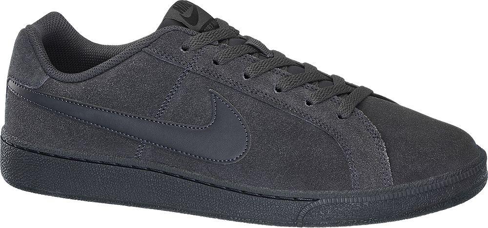 Deichmann - NIKE Šedočerné tenisky Nike Court Royale Suede 45 černo-šedá