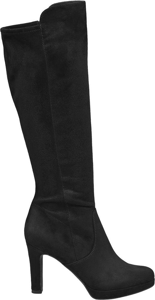 Deichmann - Graceland Černé kozačky Graceland 40 černá