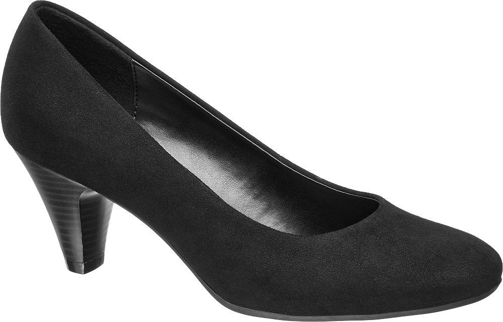 Deichmann - Graceland Černé lodičky Graceland 43 černá