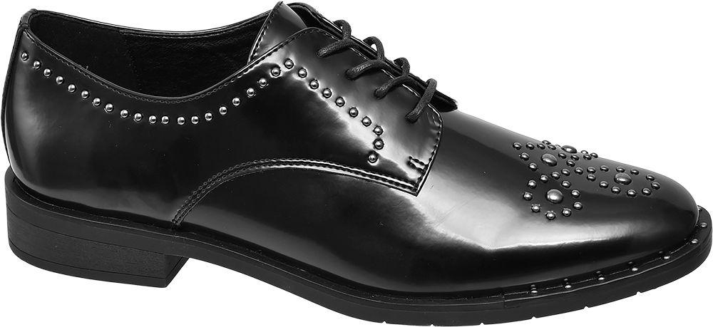 Deichmann - Graceland Černé polobotky Graceland 36 černá
