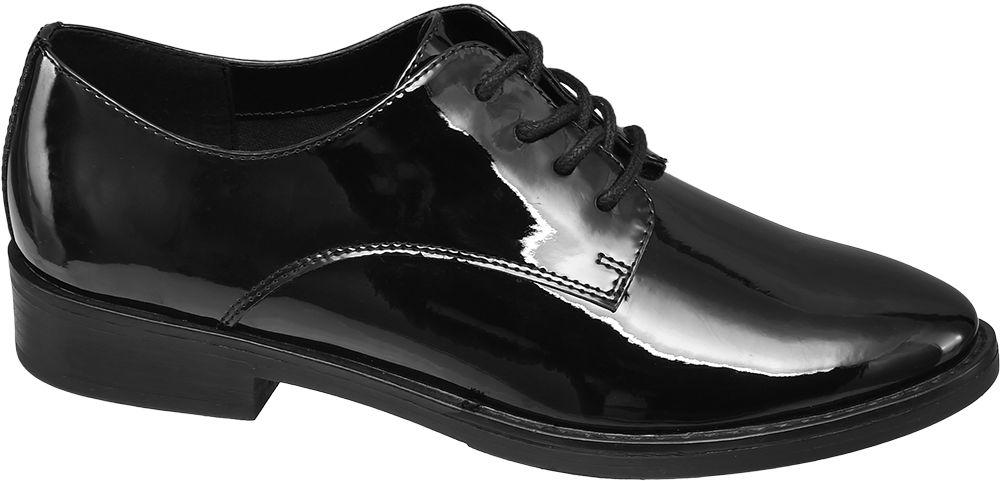 Deichmann - Graceland Černé polobotky Graceland 39 černá