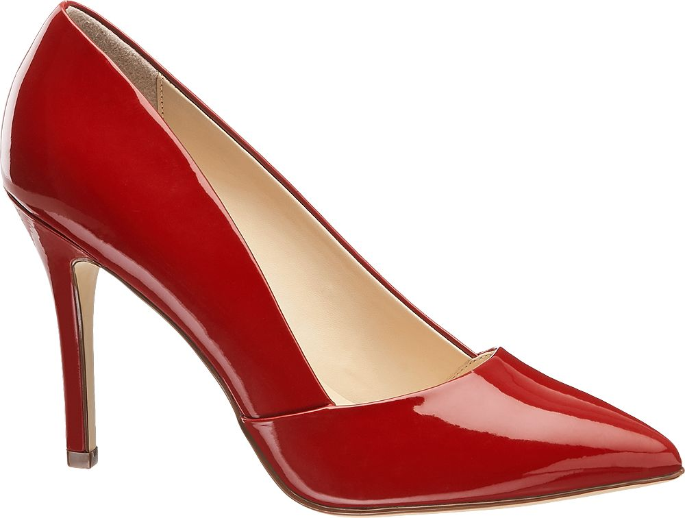Deichmann - Graceland Červené lodičky Graceland 43 červená