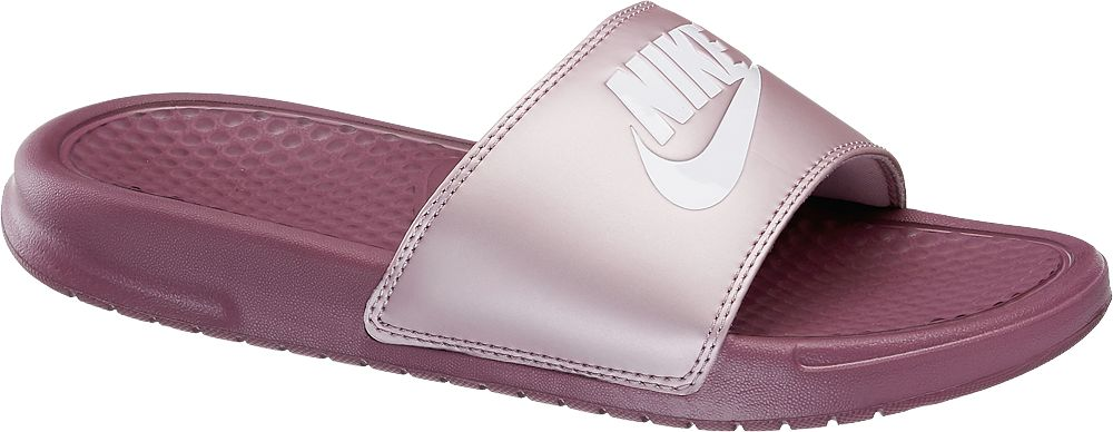 fioletowe klapki damskie Nike Benassi
