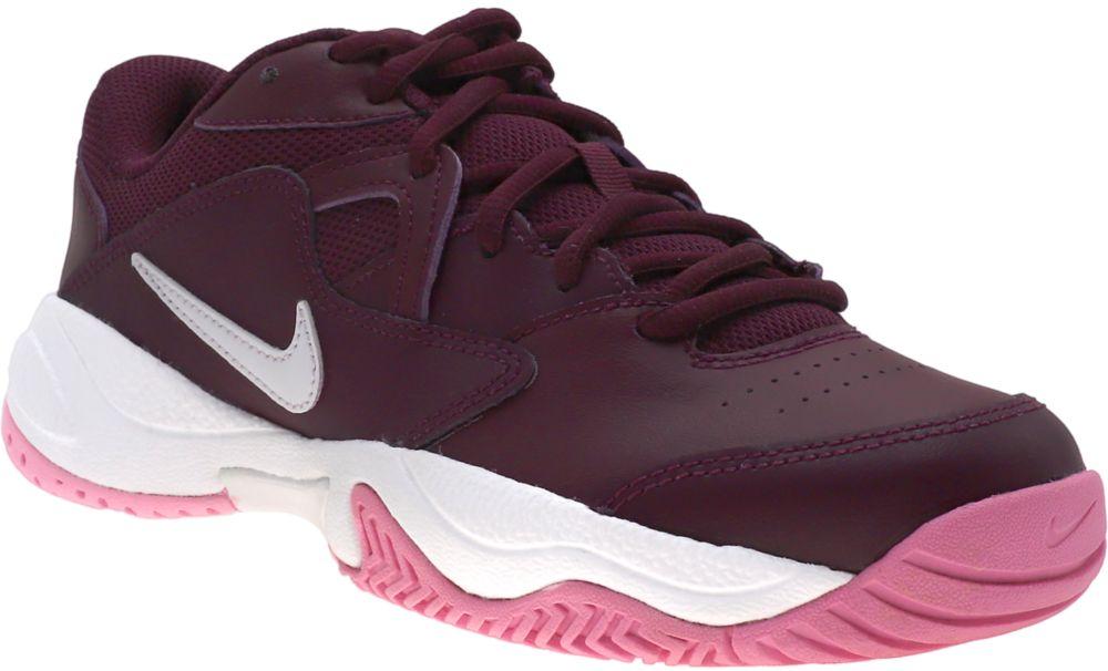 fioletowe sneakersy damskie Nike Court Line 2