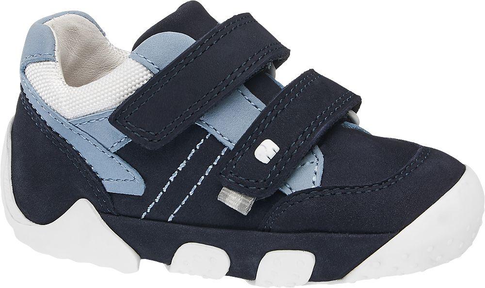 granatowo-niebieskie buciki chłopięce, tęgość M