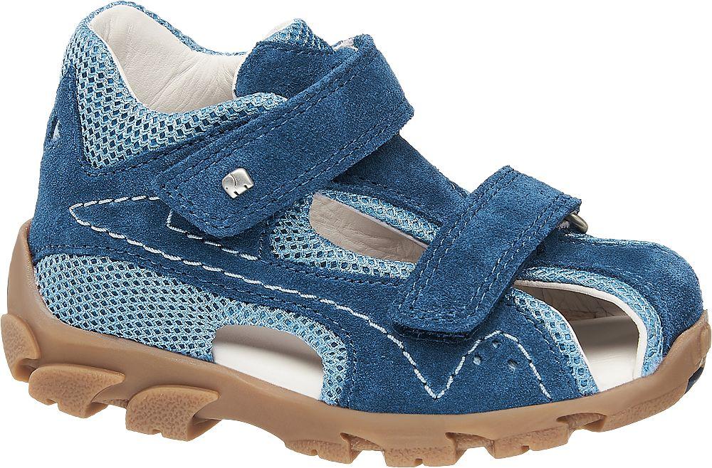 granatowo-niebieskie sandałki chłopięce Elefanten, tęgość W V