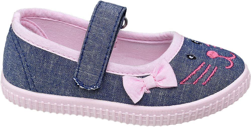 granatowo-różowe kapcie dziewczęce Cupcake Couture
