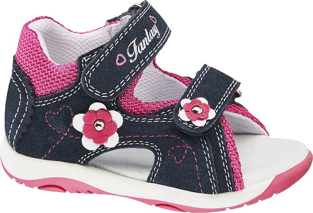 granatowo-różowe sandałki dziewczęce Cupcake Couture