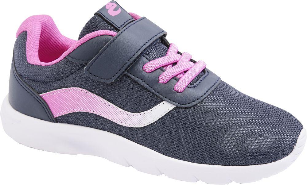 granatowo-różowe sneakersy dziewczęce Cupcake Couture