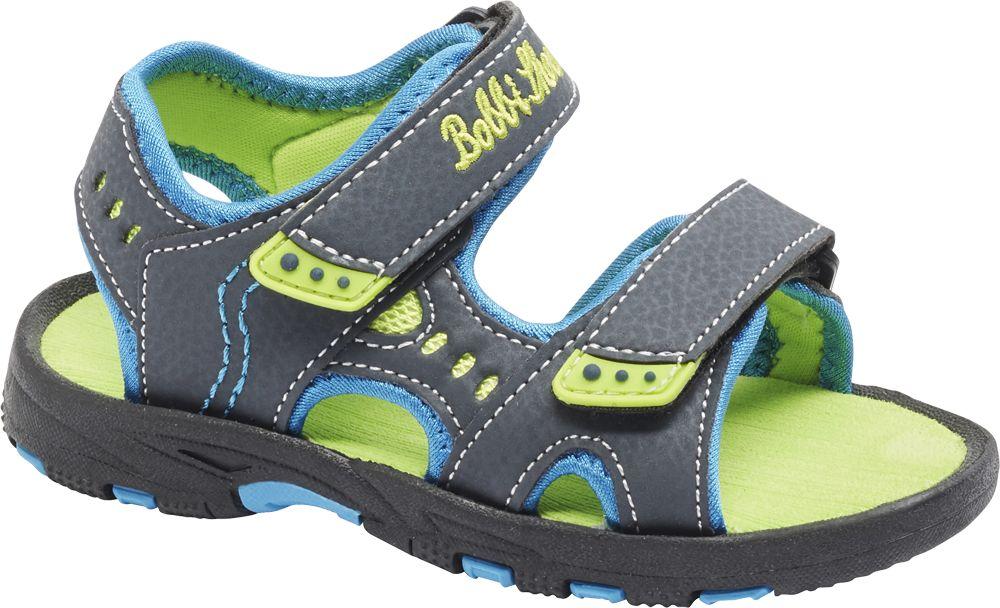 granatowo-zielone sandały chłopięce Bobbi-Shoes