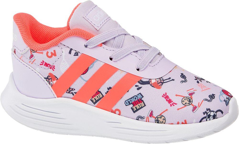 jasnofioletowe sneakersy dziecięce adidas Lite Racer 2.0