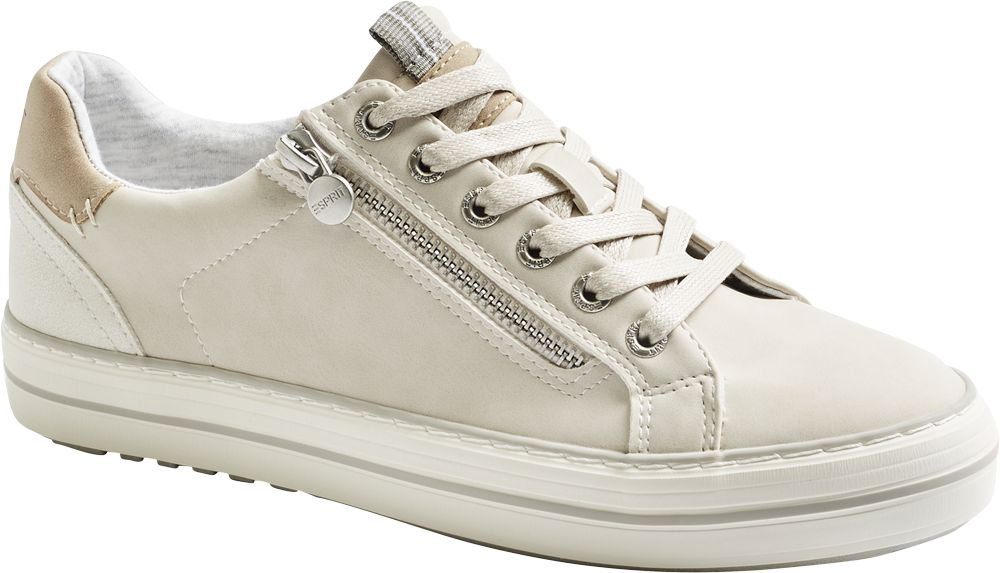 jasnoszare sneakersy damskie Bench