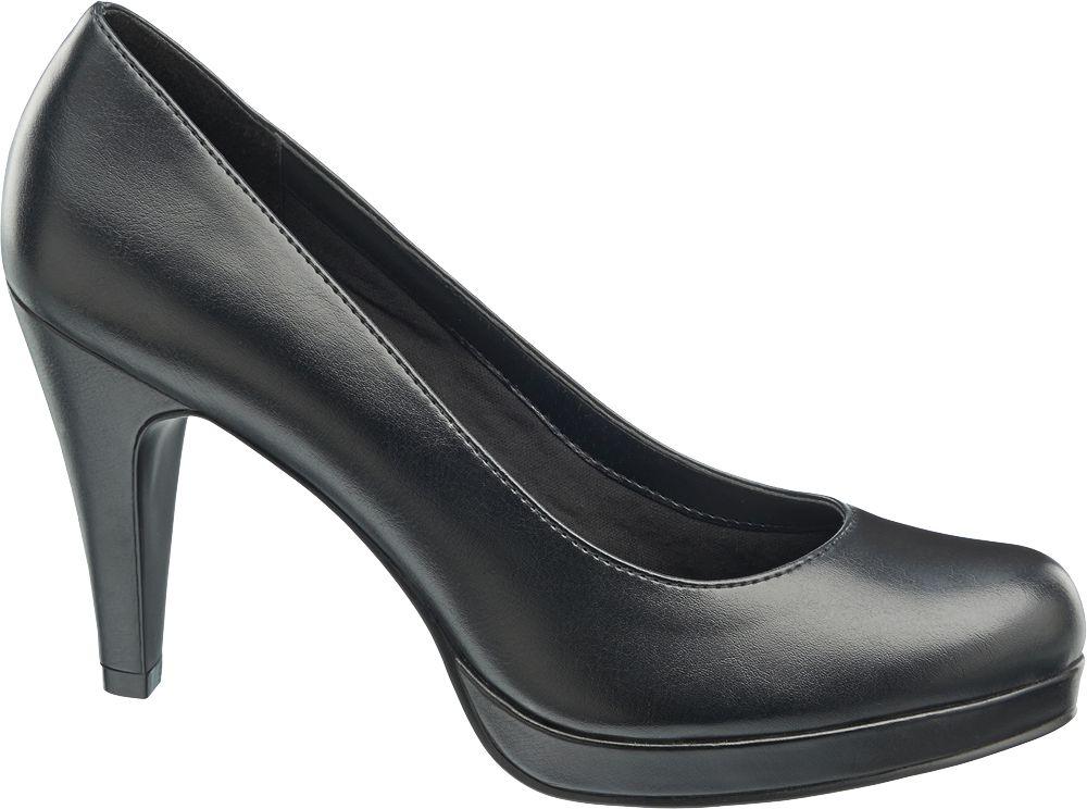 klasyczne szpilki damskie Graceland w kolorze czarnym