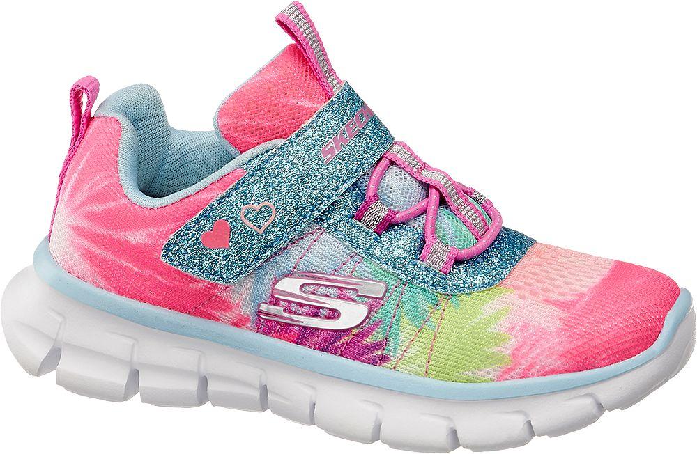 kolorowe sneakersy dziewczęce Skechers
