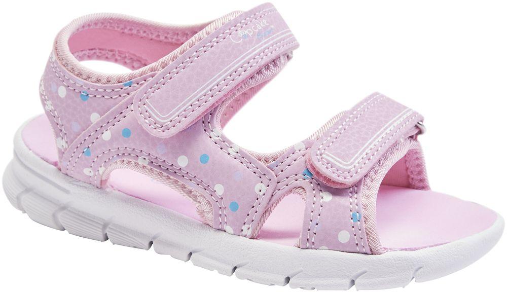 lekkie sandały dziewczęce Cupcake Couture w kolorze różowym