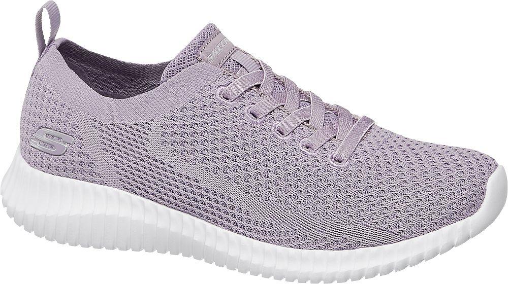 liliowe sneakersy damskie Skechers Social Muse