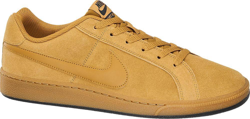 Deichmann - NIKE Žluté kožené tenisky Nike Court Royale Suede 41 žlutá