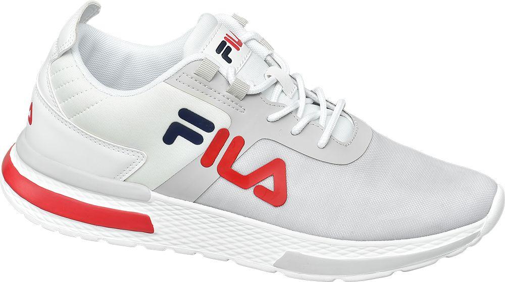 markowe sneakersy męskie Fila z czerwonym logo