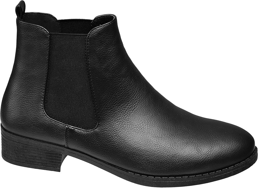 minimalistyczne botki damskie Graceland typu chelsea boots
