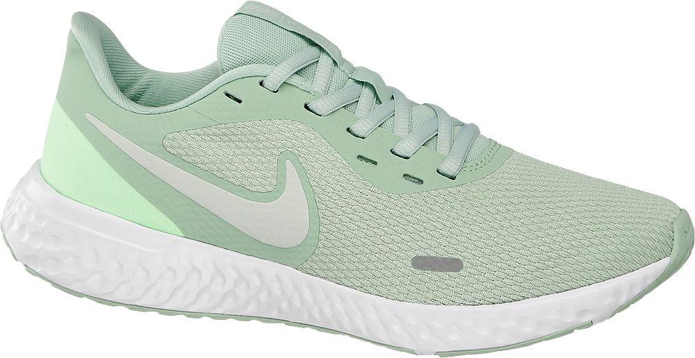 miętowe sneakersy damskie Nike Revolution 5