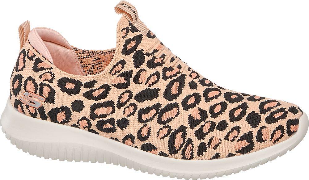 modne sneakersy damskie Skechers w cętki