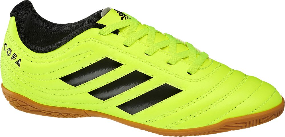 neonowe halówki chłopięce adidas Copa 19.4
