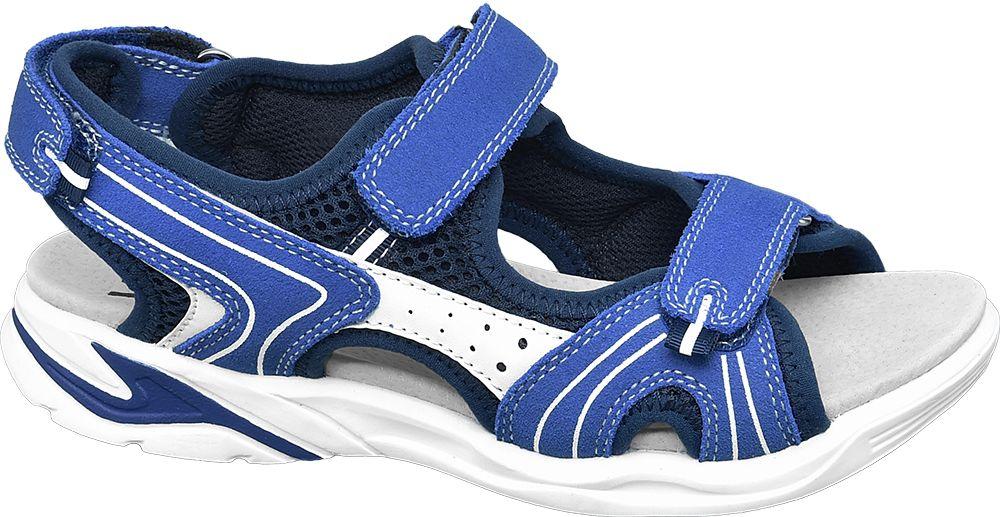 niebieskie sandały chłopięce Vty zapinane na rzepy