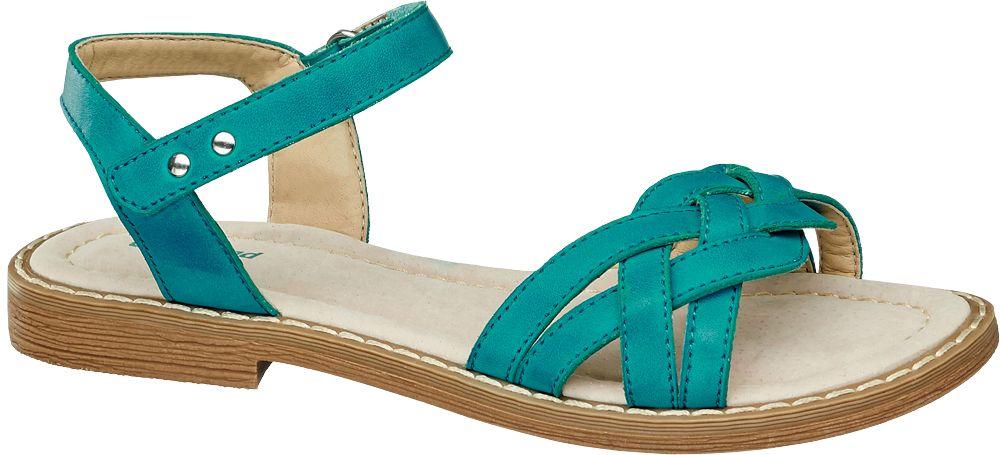niebieskie sandały dziewczęce Graceland