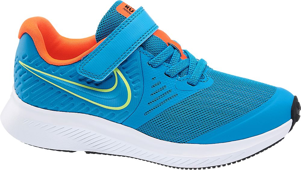 niebieskie sneakersy dziecięce Nike Star Runner 2